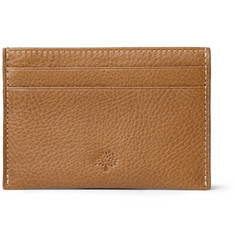 Mulberry Cross-Grain Leather Cardholder