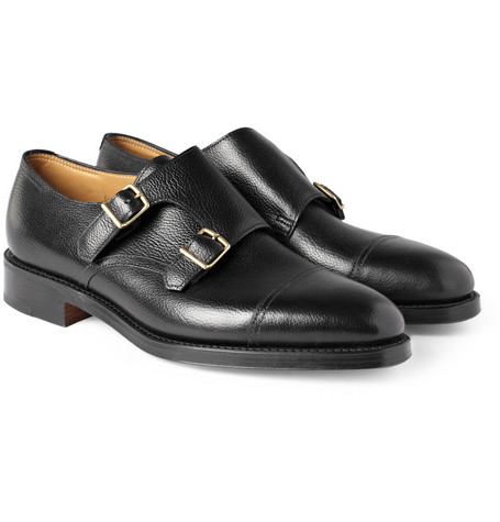William Leather Monk-strap Shoes John Lobb Faijp1