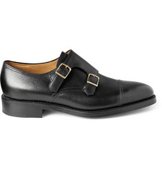John Lobb - William Leather Monk-Strap Shoes