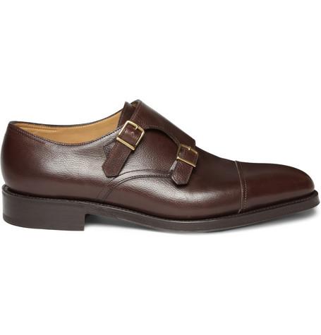 John Lobb Classic Monk Shoes - Brown