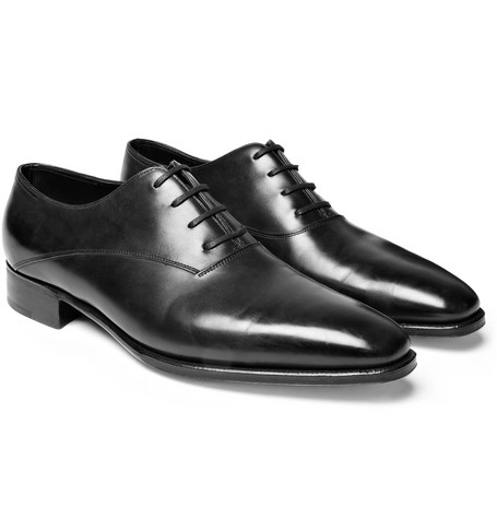 Prestige Becketts Leather Oxford Shoes - Black