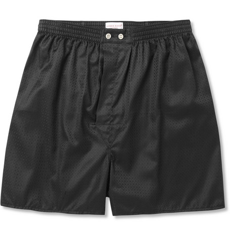 Derek Rose Lombard Woven-Cotton Boxer Shorts