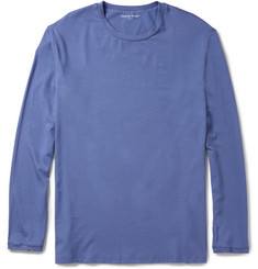 Derek Rose Basel Modal-Blend Long-Sleeved T-Shirt
