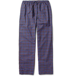 Derek Rose Ticino Plaid Cotton Pyjama Trousers