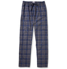 Derek Rose Ranga Plaid Cotton-Flannel Pyjama Trousers