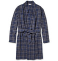 Derek Rose - Ranga Plaid Cotton-Flannel Dressing Gown