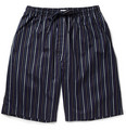 Derek Rose - Vincent Striped Cotton Pyjama Shorts