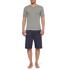 Derek Rose Vincent Striped Cotton Pyjama Shorts