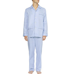 Derek Rose Asti Patterned Cotton Pyjama Set