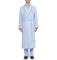 Derek Rose Asti Patterned Cotton Dressing Gown