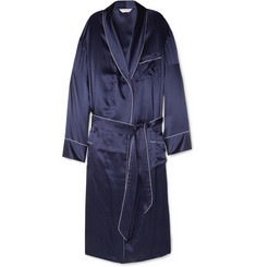 Derek Rose Charlie Silk Dressing Gown