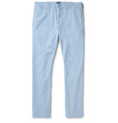 J.Crew Stanton Slim-Fit Garment-Dyed Cotton-Twill Chinos