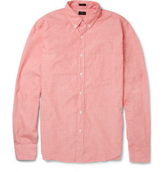 J.Crew Secret Wash Slim-Fit End-on-End Cotton Shirt