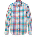 J.Crew - Secret Wash Slim-Fit Check Cotton Shirt