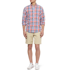 J.Crew Check Lightweight Cotton Shirt
