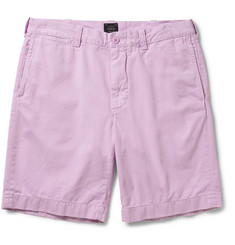 J.Crew Stanton Garment-Dyed Cotton-Twill Shorts