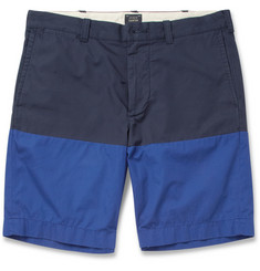 J.Crew Stanton Panelled Cotton Shorts