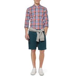 J.Crew Wallace & Barnes Fishtail Cotton and Linen-Blend Shorts