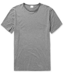 Sunspel Striped Cotton-Jersey T-Shirt