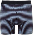 Sunspel - Striped Cotton-Jersey Boxer Briefs