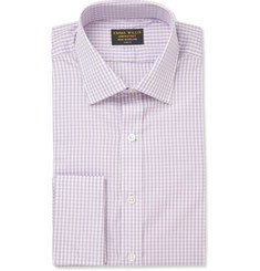 Emma Willis Purple Check Cotton Shirt