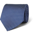 Emma Willis - Circle-Print Silk-Twill Tie