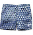 Robinson les Bains - Mid-Length Anchor-Print Swim Shorts