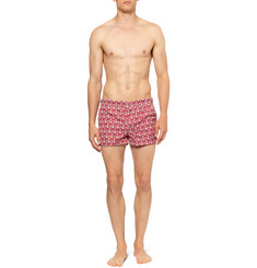 Robinson les Bains Short-Length Anchor-Print Swim Shorts