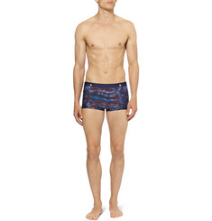 Robinson les Bains Benirras Short-Length Printed Swim Shorts