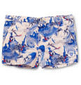 Robinson les Bains - Short-Length Printed Swim Shorts