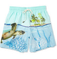 Vilebrequin - Moopho Mid-Length Printed Swim Shorts