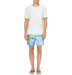 Vilebrequin Moopho Mid-Length Printed Swim Shorts