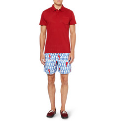 Vilebrequin Motu Mid-Length Printed Swim Shorts