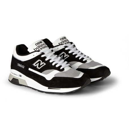 New Balance 1500 Suede And Mesh Sneakers