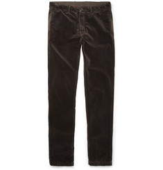 Massimo Alba Regular-Fit Velvet Trousers