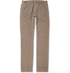 Massimo Alba Winch Regular-Fit Cotton and Wool-Blend Trousers