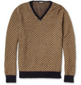 Massimo Alba - Beaton Spotted Camel-Blend Sweater