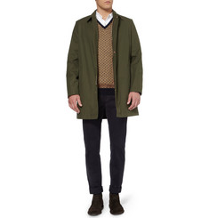Massimo Alba Beaton Spotted Camel-Blend Sweater