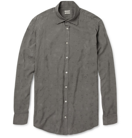 Massimo Alba Genova Modal and Cotton-Blend Shirt