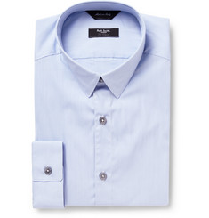 Paul Smith London Blue Byard Check Cotton-Blend Shirt