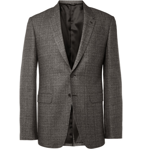 Paul Smith London Byard Prince Of Wales Check Wool-Blend Blazer