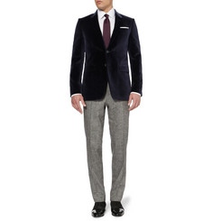 Paul Smith London Byard Slim-Fit Velvet Blazer