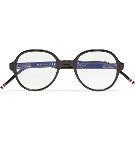 Thom Browne Round-Frame Acetate Optical Glasses