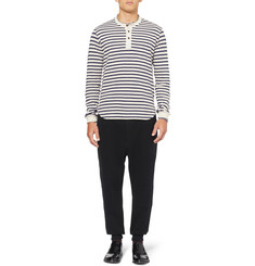 Junya Watanabe Tapered Cotton-Jersey Trousers