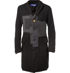 Junya Watanabe Slim-Fit Patchwork Wool Coat