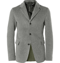 Jil Sander Unstructured Brushed-Wool Blazer
