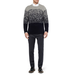 Jil Sander Slim-Fit Wool and Cashmere-Blend Trousers