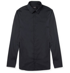 Jil Sander Slim-Fit Cotton-Blend Poplin Shirt