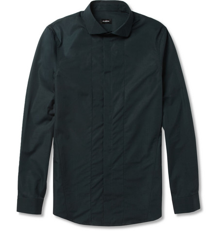 Jil Sander Slim-Fit Cotton-Poplin Shirt