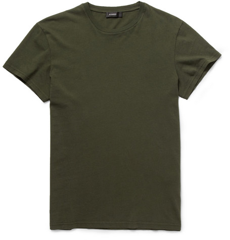 Jil Sander Garment-Dyed Cotton-Jersey T-Shirt